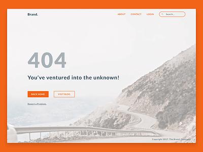 404 Page Design daily ui ux design ui design design page error website 404 ux ui