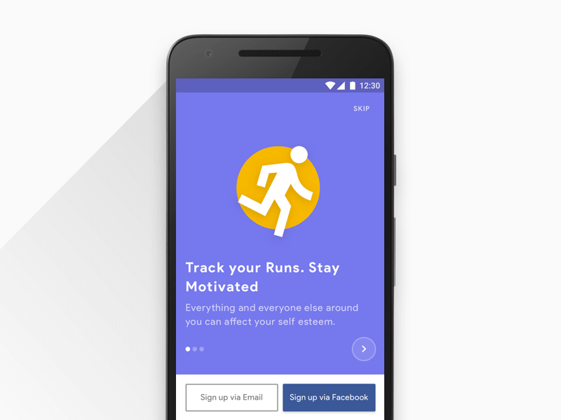 DailyUI 023 Onboarding onboarding ux search mobile minimal design material ui daily app android