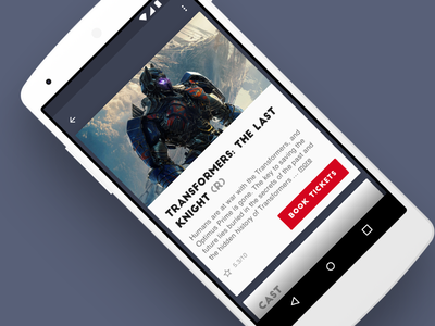 Movie Info Card — DailyUI 045 material design user experience user interface dailyui card android app mobile design ui ux