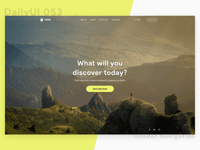 Travel Website Concept web design user experience user interface concept travel responsive desktop website web design ui ux
