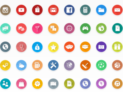 Material Design Icon Set smart launcher icon pack graphic design user experience user interface daily themes design ui ux