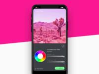Image Editing iOS App Concept