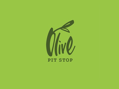 Logo Olive Pit Stop