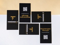Thundershop Business Cards