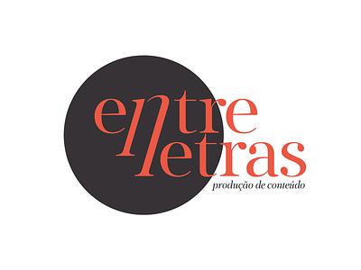 Entrelletras branding logo