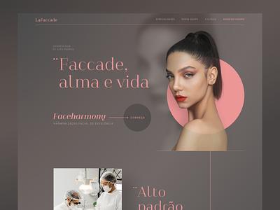 LaFaccade - Concept UI ui design concept design web ui