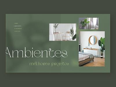 Botanika - Concept site design (Project Screen) website concept website design ux ui web