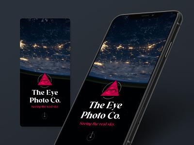 The Eye • Concept concept space design interface logo ux mobile ui