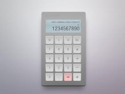 Daily UI 003 - Calculator