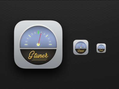 Daily UI 005 - Icon - Guitar tuner