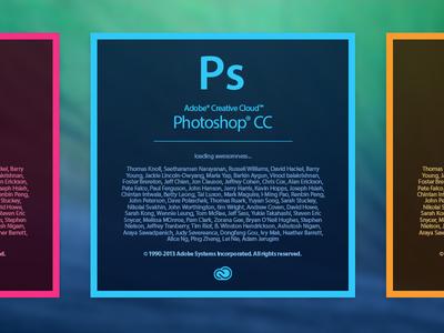 Adobe Creative Cloud Splashscreen