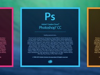 Adobe Creative Cloud Splashscreen