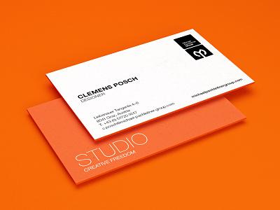 Hello, MP Studio! job new awesomeness cards business edging orange
