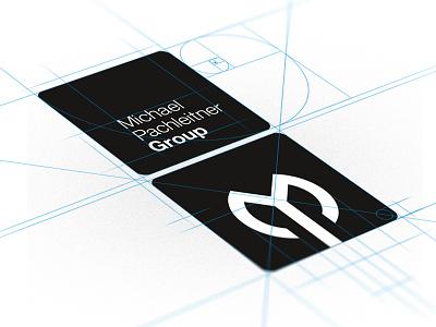 MPG Case Study  logo design branding golden ratio black white construction