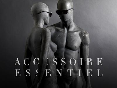 Accessoire Essentiel essentiel accessoire focus naked nude fashion mannequin mannequins eyewear artdirection design photography