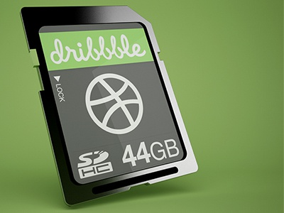 SD-Card Icon sd card icon 3d rebound shot dribbble