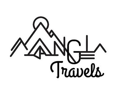 Angela Travels logo logo