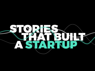 Stories That Built a Startup -- Cover Art