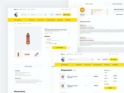Adel Online - Product Details website design shopping buy shop ecommerce web design website webdesign user experience userinterface product design app uxdesign uidesign design ux ui