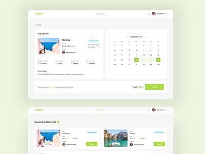 Tripard - My trips webdesign travel dashboad web design website web user experience appdesign userinterface product design uxdesign uidesign design ux ui