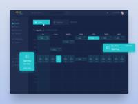Lava Dashboard - Schedule