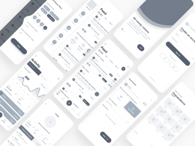Aid App - Wireframes