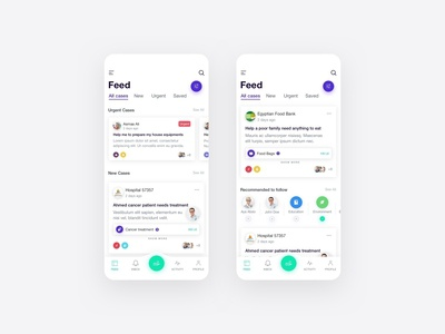 Care App - Feed