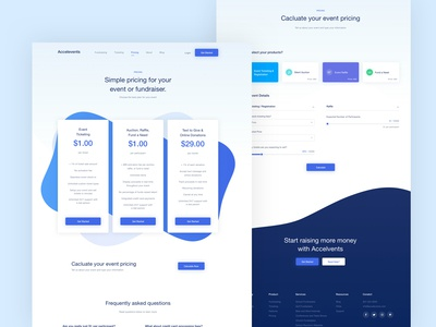 Accelevents - Pricing Page