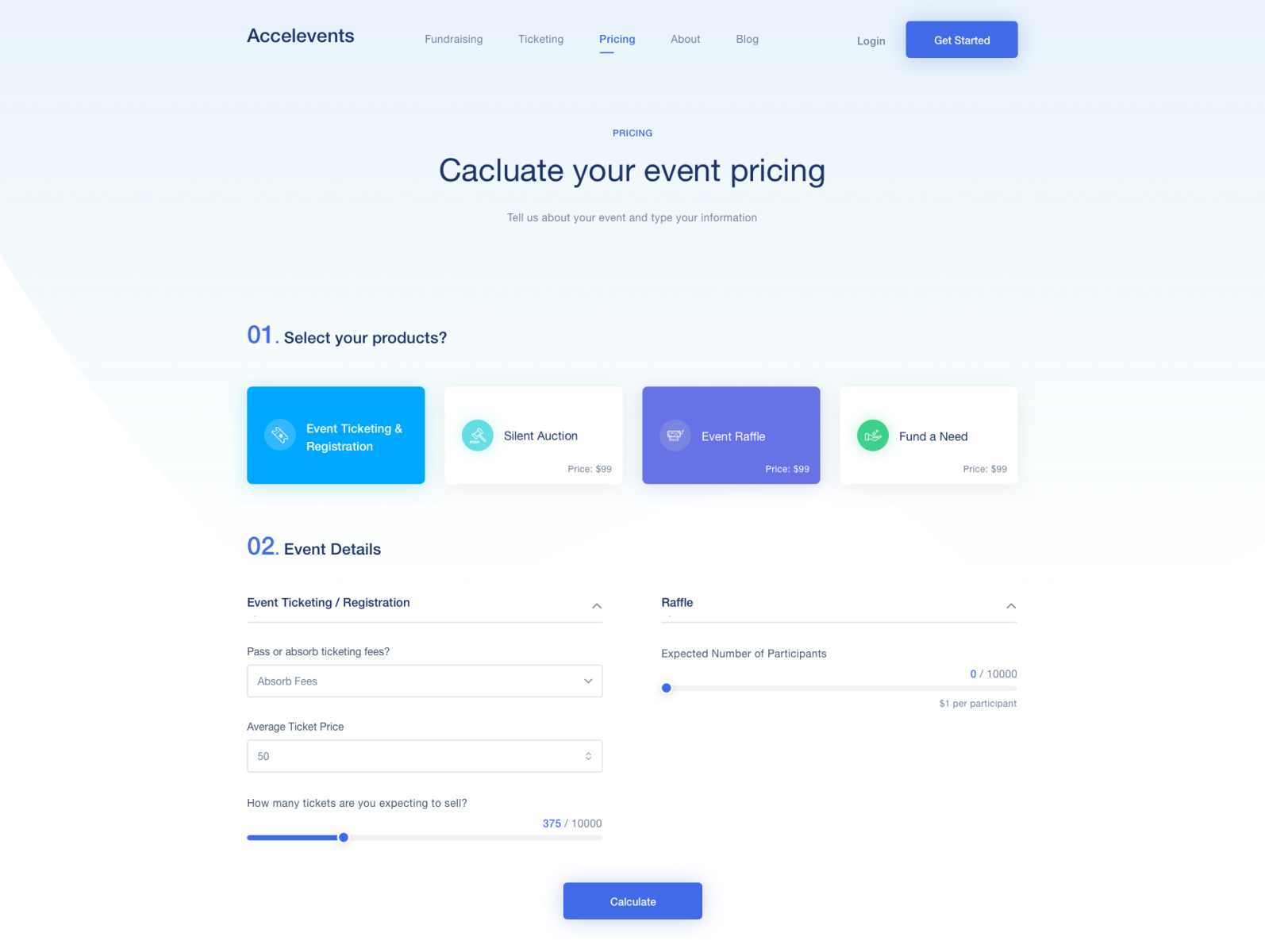 Accelevents Pricing Page By Abdallah Mostafa On Dribbble