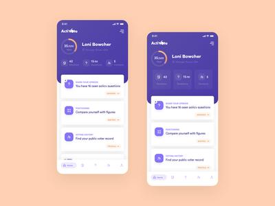 Vote App - Home