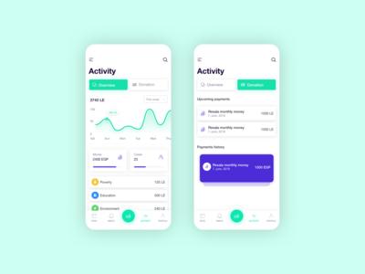 Aid App - Activity