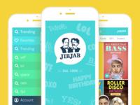 JibJab - The App Design