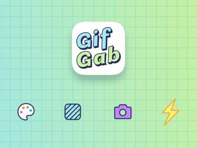 GifGab - Icon Design