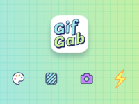 GifGab - Icon Design