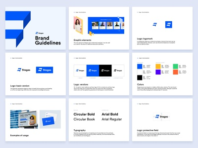 Stages – Brand Guidelines logotype logo guidelines brand guidelines brand manual brand identity branding logo typography graphic design design