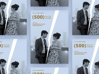 """500 days of summer"" movie poster"