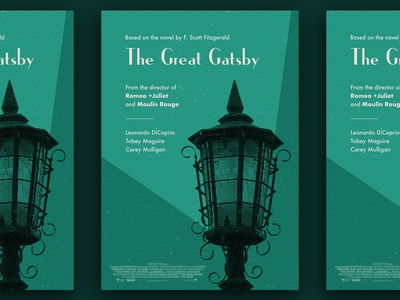 """The Great Gatsby"" movie poster"