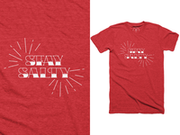 Stay Salty T-Shirt for sale clothing shirt t-shirt design t-shirt boating sailing typography