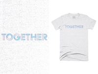 Together T Shirt for sale shirt t-shirt design t-shirt clothing together typogaphy