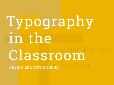Typography in the Classroom