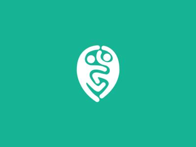 Where Can I Dance geotag placeholder school dance logotype logo branding brandidentity brand