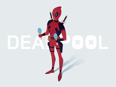 Deadpool vector superhero movie marvel illustration deadpool comics