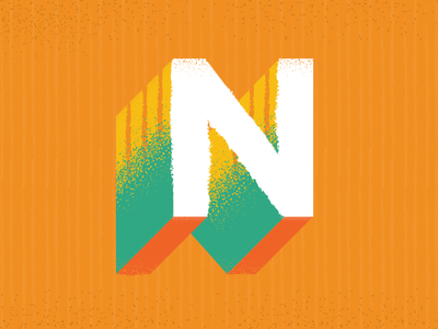 The letter n by sara barnett dribbble the letter n sciox Gallery