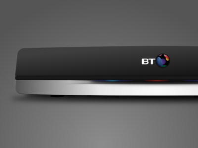 BT Youview box illustration