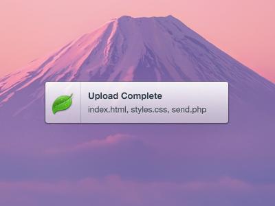 Growl Notification growl notification theme skin free download debut coda mac lion 