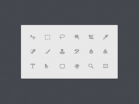 Some Photoshop Icons