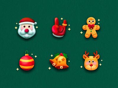 SA9527 - Christmas Icon Design 03 business banner china style design illustration icon sa9527