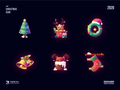 SA9527 - Christmas Icon Design 05 ui banner china style design illustration icon sa9527