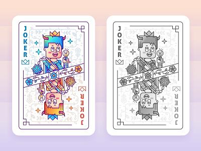 SA Clubs Character Cards 01~ color illustration design style line sa9527