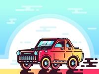 Car & Color : TOYOTA